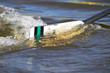 Skull taucht ins Wasser ein