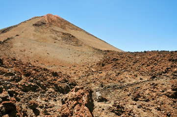 Mount Teide, in Teide National Park, Tenerife, Canary Islands, S