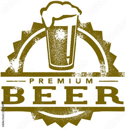 Premium Beer Stamp