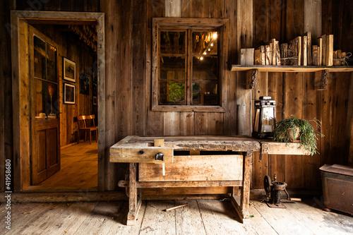 Stube aus Holz - 41958680