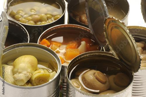 罐头食品 Alimentos enlatados Canned foods