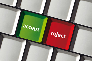 Decision - accept or reject