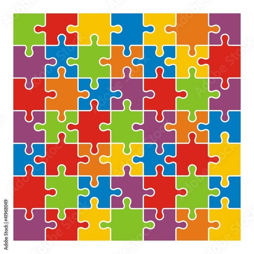Puzzle Colorful - Megaset