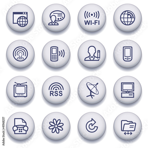 Color buttons with contour icons 9
