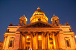 Famous Saint Isaac's Cathedral at white nights, Saint Petersburg