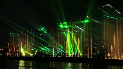water, light and laser show 2