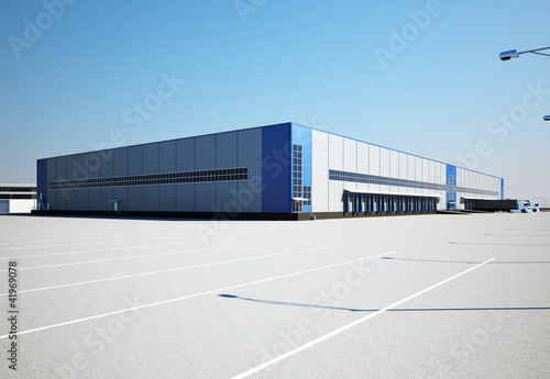 warehouse exterior - 41969078