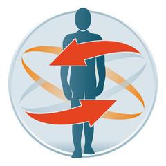 Logo Mensch Medizin Radiologie Rundum Schutz m QXP9 Datei