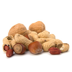 Various nuts mix