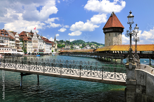 canvas print picture Luzern