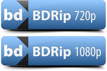 BDRip buttons