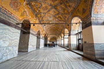 Hagia Sophia mosque, Istanbul, Turkey.