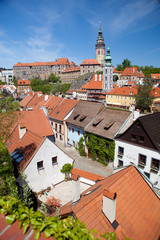 roofs of Cesky Krumlov