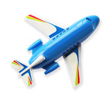 toy plane white background
