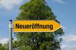 Pfeil mit Baum NEUERÖFFNUNG