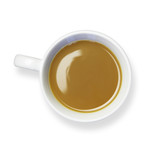 coffee cup white background