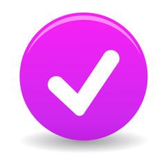 Bouton valider violet