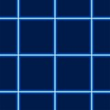 Glowing Squared Pattern - Repetitive Illustration poster