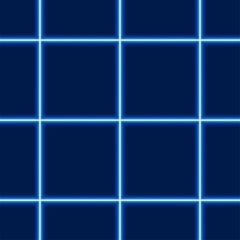 Glowing Squared Pattern - Repetitive Illustration
