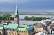 Hamburg Rathaus Anschnitt