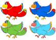 Colour birds