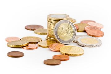 Euro Münzen, Kleingeld