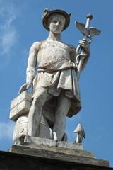 Sculpture of Mercury