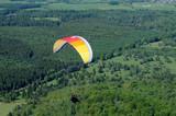 Fototapeta wulkan - powietrze - Sporty Powietrzne