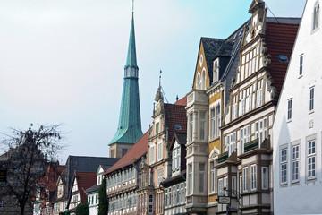 Hameln Blick auf die Marktkirche