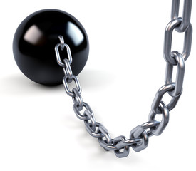 Ball and massive chain