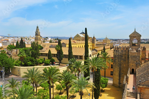 Alcazar and Cathedral–Mosque of Cordoba, Spain