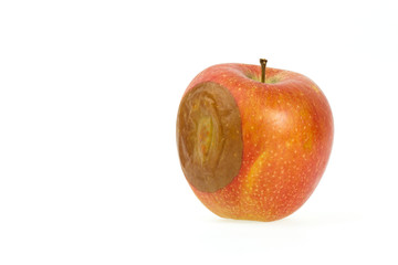 One bad red apple
