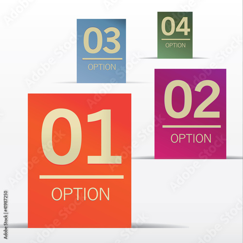 vector options background