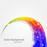 vector color background - sfondo arcobaleno