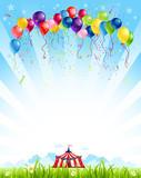 Fototapety Traveling circus