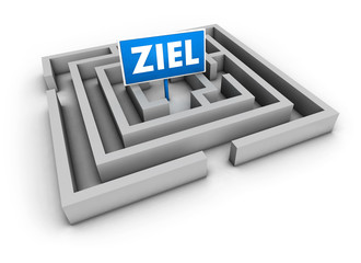 Ziel Labyrinth