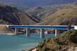 Bridge at the Autovia Sierra Nevada in Spain