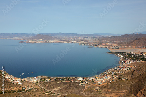 La Azohia bay, Costa Calida, Region Murcia Spain