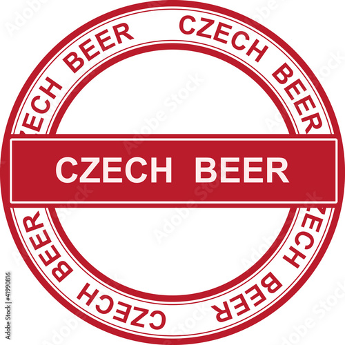 STAMP CZECH BEER
