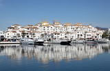 The marina of Puerto Banus, Marbella, Spain