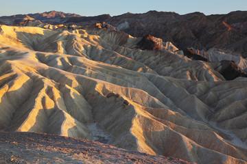 The  Death Valley - Zabriskie Point