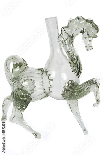 Glass figurine
