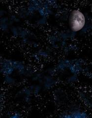uzay boşluğu ve yıldızlar