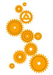 ギア(黄色)