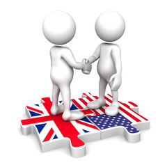 British - American partnership
