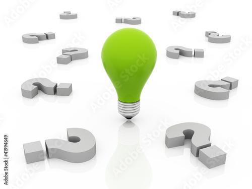 solution & idea concept