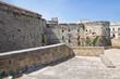 The Aragonese Castle of Otranto. Puglia. Italy.