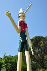 Pinocchio wooden italian marionette