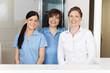 team in der zahnarztpraxis