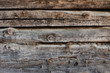 Close-up of the old wall of the timber